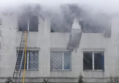 Пожежа в будинку для літніх людей у Харкові