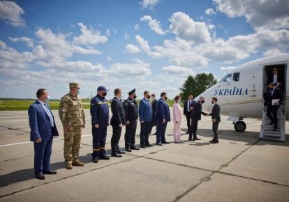 Владимир Зеленский прибыл с рабочей поездкой в Хмельницкую область