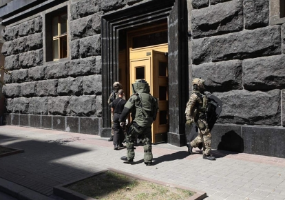 Интересы Кабмина/Фото МВД Украины