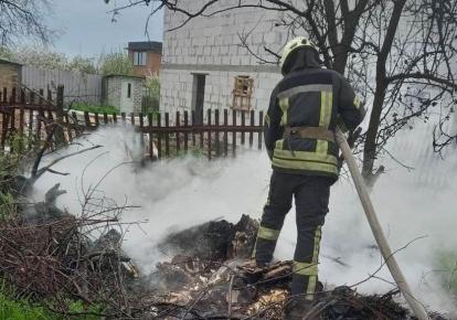 Рятувальники попередили по підвищений рівень пожежної небезпеки