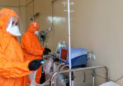 Госпитализировали 18 инфицированных