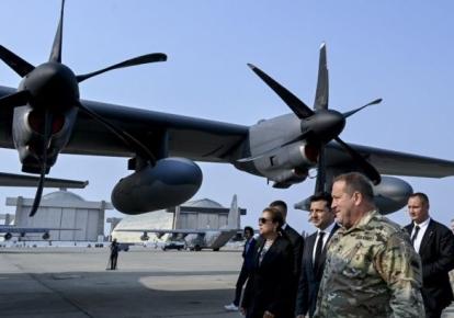 Володимир Зеленський на авіабазі Національної гвардії Каліфорнії