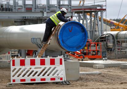 """Укладка газопровода """"Северный поток-2"""""""