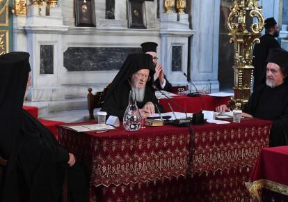 Вселенский патриархат Варфоломей назначил двух экзархов в Киеве. Фото: patriarchate.org