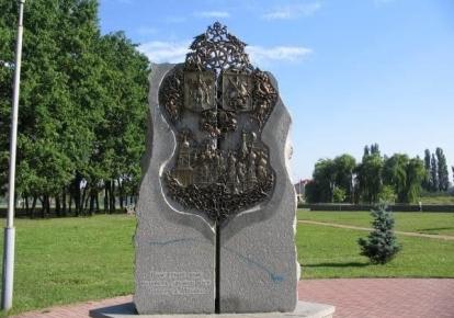 Монумент дружбы Киева и Москвы