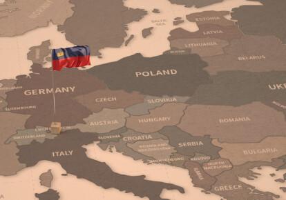 Княжество Лихтенштейн - одно из самых маленьких стран Европы / Фото:  Shutterstock