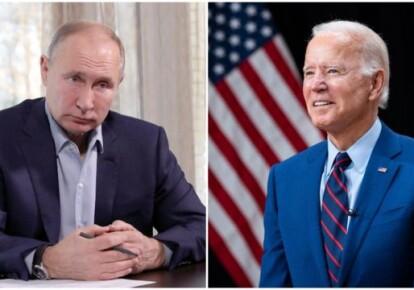 Володимир Путін і Джо Байден