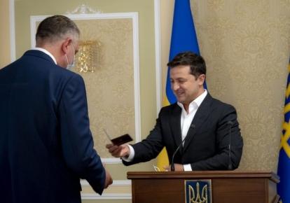Володимир Зеленський і Олександр Литвиненко