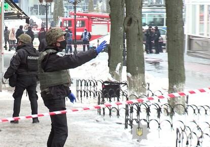 Правоохоронці на місці події