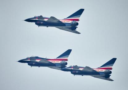 Китайские истребители Chengdu J-10