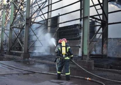 Вогнеборці врятували 30 тис. тонн зерна