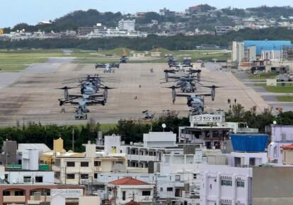 Военная база США на Окинаве. Фото: EPA/UPG