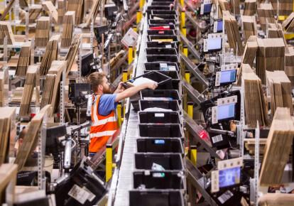 В центре выполнения заказов Amazon