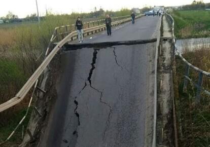 Міст у селі Гайок був аварійним