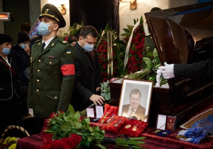 Прощання з Олександром Дегтяревим