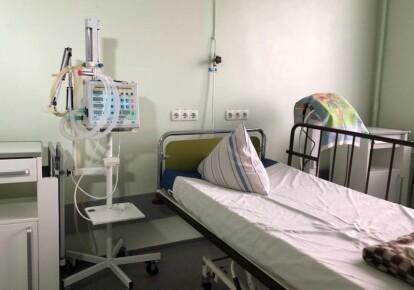 Ліжко для COVID-хворих