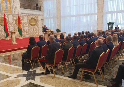 Церемония инаугурации Александра Лукашенко в 2020 году