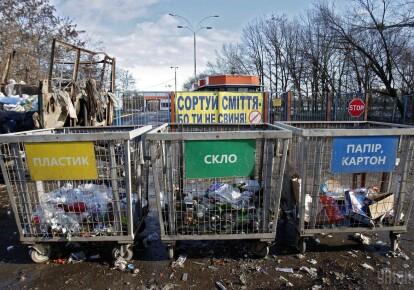 Контейнеры для мусора / УНИАН