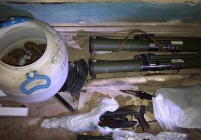 Схрон зброї в будівлі Нацакадемії аграрних наук
