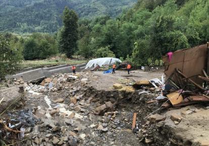 Последствия наводнения в Турции/фото: cnnturk.com