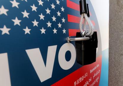 Почтовый ящик для голосования, Калифорния, США