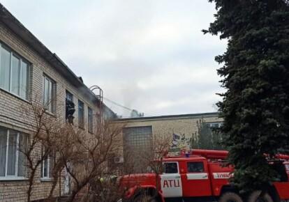 Пожежа у дитячому садку під Києвом