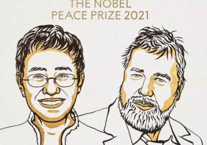 Нобелевскую премию мира получили Мария Рессе и Дмитрий Муратов