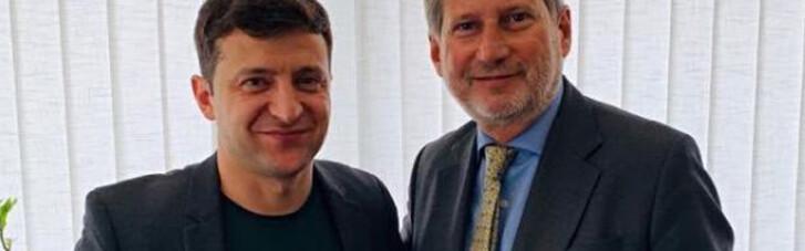 Еврокомиссар раскрыл детали переговоров с Зеленским