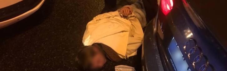 Втеча зі стріляниною: під Києвом чоловік влаштував небезпечні перегони з поліцією (ВІДЕО)