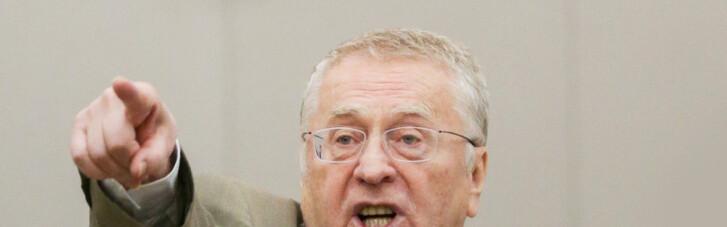 У Жириновского чуть не упали штаны в прямом эфире (ВИДЕО)