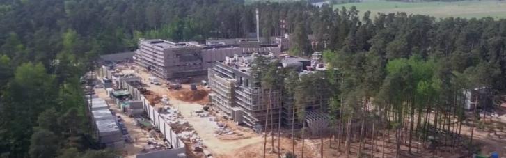 Біля резиденції Путіна у Підмосков'ї триває секретне будівництво на понад $600 мільйонів