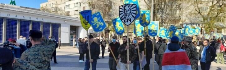 """В ОПУ зажадали покарати порушників закону під час маршу на честь дивізії СС """"Галичина"""""""