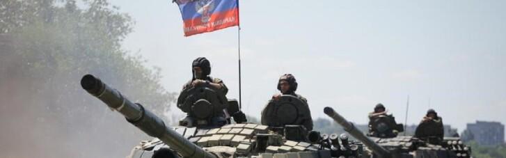 На Донбасі окупанти продовжують розгортати важку артилерію та танки