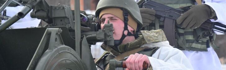 Прикордонники провели на Сумщині навчальні стрільби та марш на бронетехніці (ФОТО, ВІДЕО)