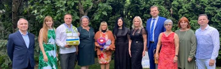 У резиденції посла Аргентини відбувся офіційний прийом учасниць Business Woman Club
