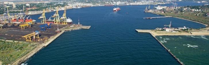 """Арендованный терминал порта """"Черноморск"""" вернули под контроль государства"""