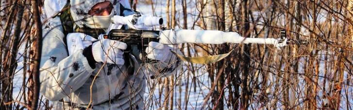 Російський снайпер поранив українського військового