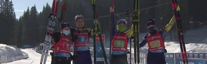 Україна взяла бронзу в жіночій естафеті на чемпіонаті світу з біатлону