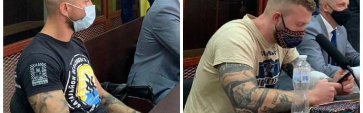 """Столкновения под ОПУ: суд арестовал ветерана """"Азова"""" и одного из лидеров """"Нацкорпуса"""""""