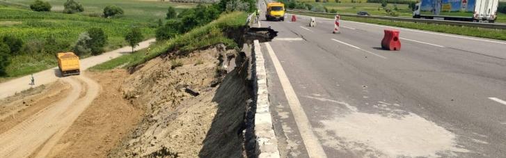 Ділянку одеської траси, яку підмило дощами, відремонтують до 3 серпня, – Кубраков