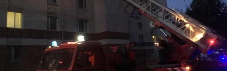 Во Франковске горело общежитие медуниверситета: эвакуировали 88 человек (ФОТО)