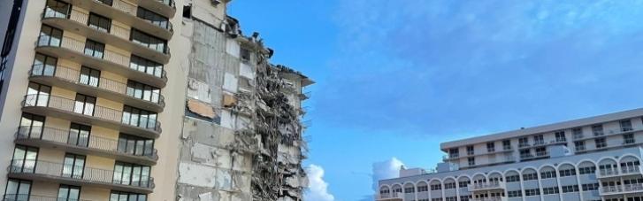 Обвал будинку в Маямі: кількість жертв знову збільшилася