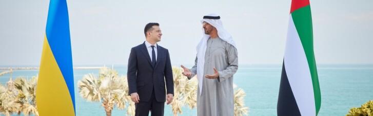 Президенты и эмиры. Как поездка Зеленского в ОАЭ повлияет на отношения с Белым домом