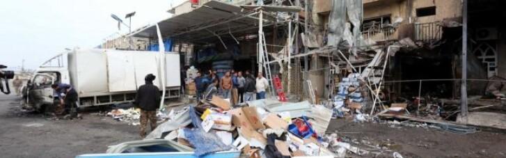 У центрі Багдада подвійний теракт, десятки загиблих і поранених