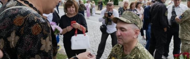 В Киеве почтили павших защитников Украины (ФОТО)