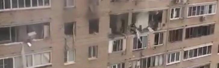 В Подмосковье после мощного взрыва частично обрушился жилой дом, есть жертвы
