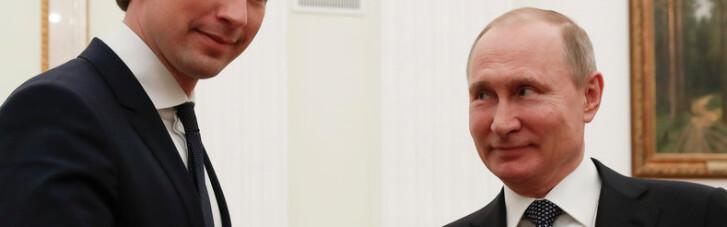 Криза жанру. Що Путін забув в Австрії