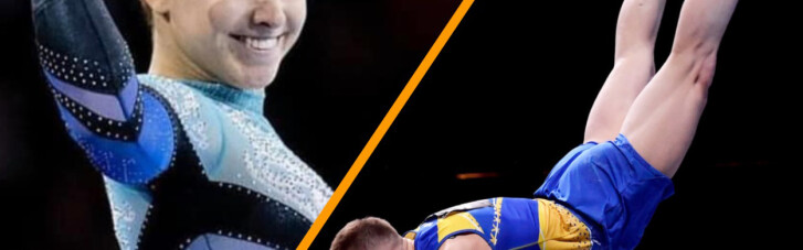 """Украинские гимнасты завоевали """"золото"""" и """"бронзу"""" на Чемпионате Европы"""
