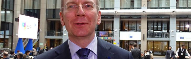 Глава МЗС Латвії летить в Україну, щоб висловити солідарність перед лицем російської загрози