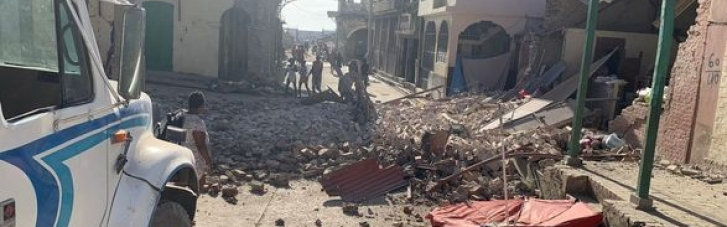 На Гаити количество жертв землетрясения увеличилось до более 200 (ВИДЕО)